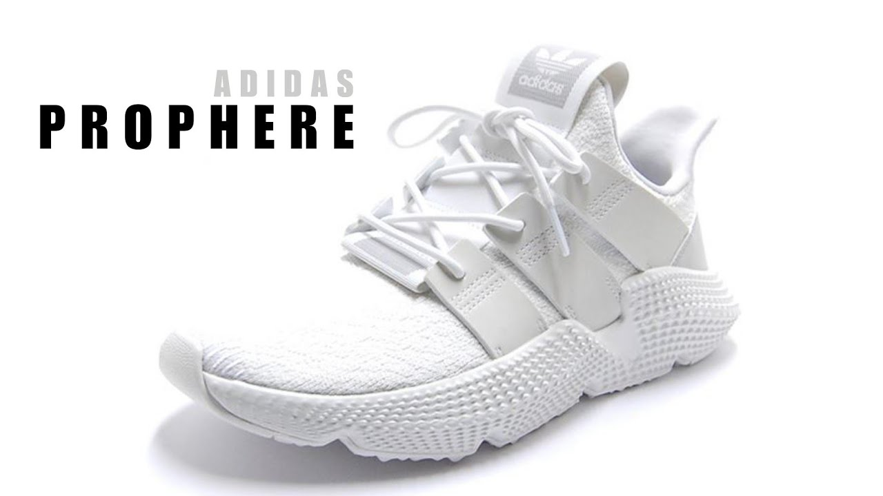 589e4d9a43abbc  ADIDAS  Prophere  triple  white for women  UNBOXING + CLOSER LOOK  sneakers   lifestyle
