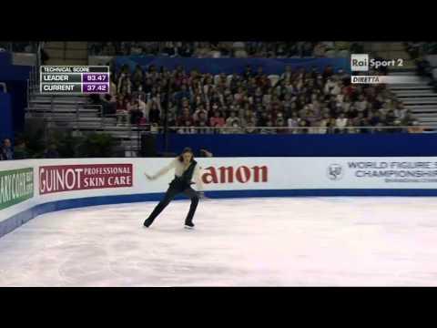 2015 Figure Skating World Champs Shanghai - men - FP - Jason BROWN