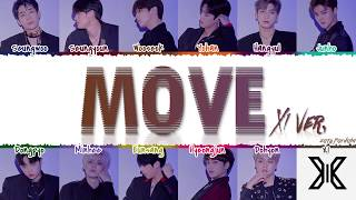 X1 엑스원 Move Prod By Zico X1 Ver Color Coded Han Rom Eng MP3