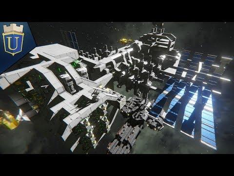 Space Engineers   Hangar Bay Construction!  Multiplayer Survival