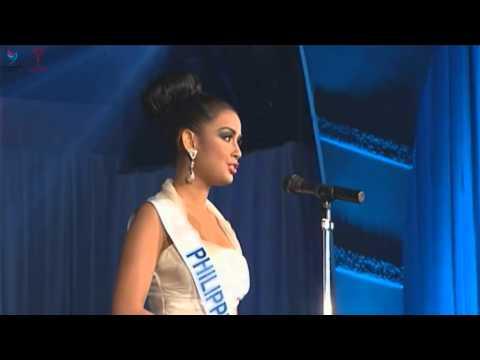 Miss International 2012 Q & A - Nicole Schmitz, Philippines