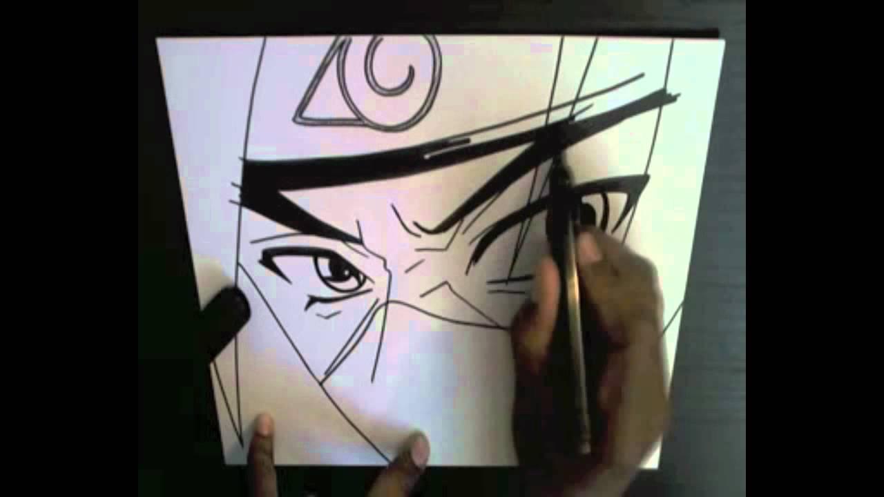 how to draw itachi& 39