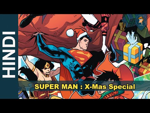 SUPERMAN BATMAN Xmas HOLIDAYS Special Complete Story | DC Comics in Hindi | CARTOON FREAKS