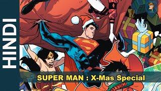 SUPERMAN BATMAN de Navidad VACACIONES Especiales Historia Completa | DC Comics en Hindi | de dibujos animados de MONSTRUOS