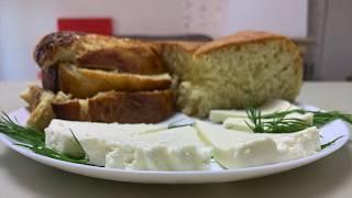 Рецепт за 1 минуту! Учимся готовить домашний малосольный сыр. Вкусная обстановка