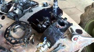 мотоблок зубр поломка - застучал двигатель помогите!!(, 2014-03-28T13:12:16.000Z)