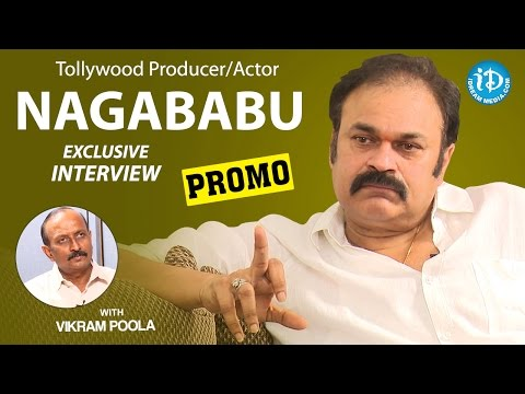 Actor & Producer Naga Babu Exclusive Interview PROMO || Talking Movies With iDream