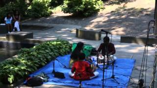Classical Indian song and drums at One World Day