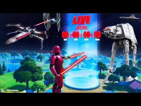 *NEW* FORTNITE STAR WARS EVENT LIVE! STAR WARS RISKY REELS EVENT! (Fortnite Item Shop Star Wars)