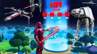 *NEW* FORTNITE STAR WARS EVENT! (LIVE)