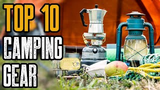 TOP 10 NEW CAMṖING GEAR YOU MUST OWN 2020