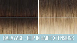 Ombre / Balayage Hair Extensions | ZALA Hair