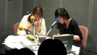 大阪市なんばのYES-FMチャッターBOXにて.