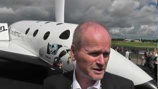 Virgin Galactic test pilot Dave MacKay on SpaceShipTwo