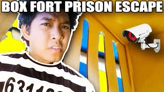 *KIDNAPPED*! 24 HOUR BOXFORT PRISON ESCAPE ROOM!!📦🚔