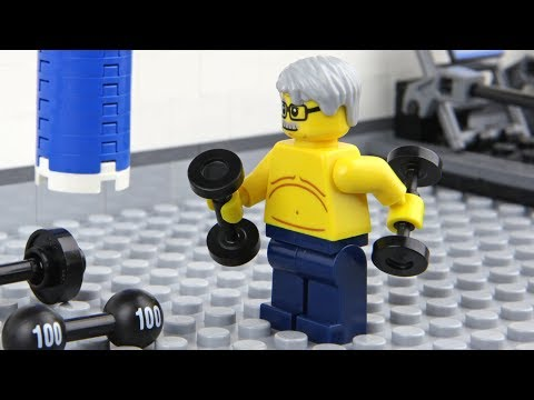 Lego Gym Fail
