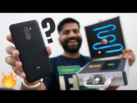 Xiaomi Poco F1 Unboxing & First Look – Raw Power All Around🔥🔥🔥