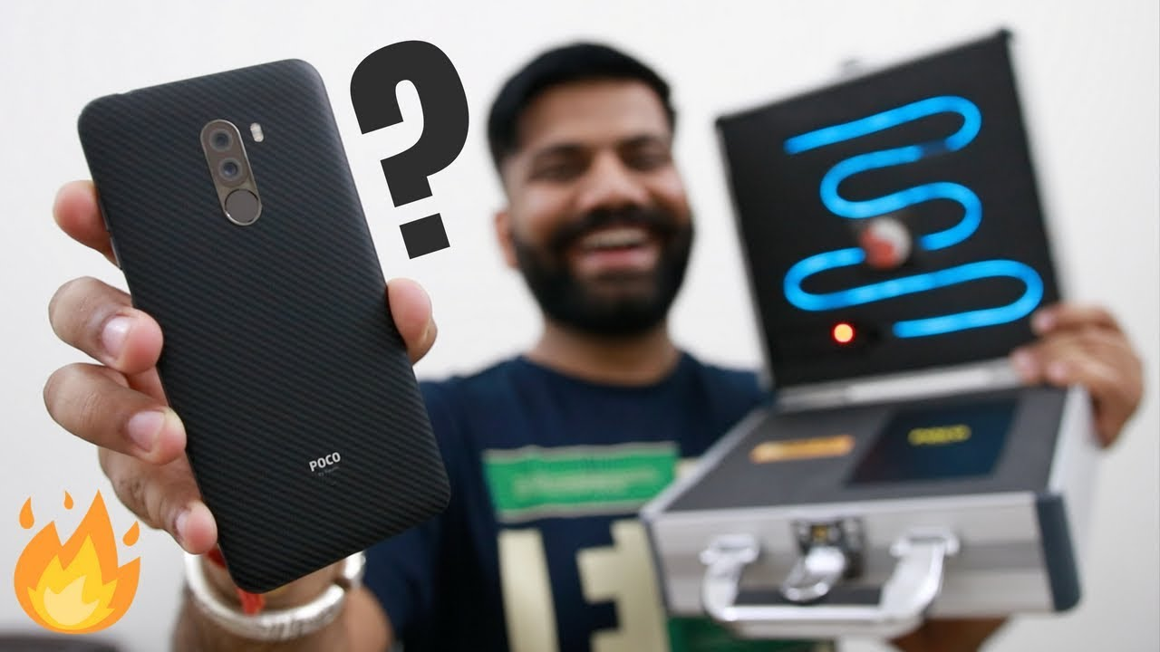 Xiaomi Poco F1 Unboxing & First Look - Raw Power All Around
