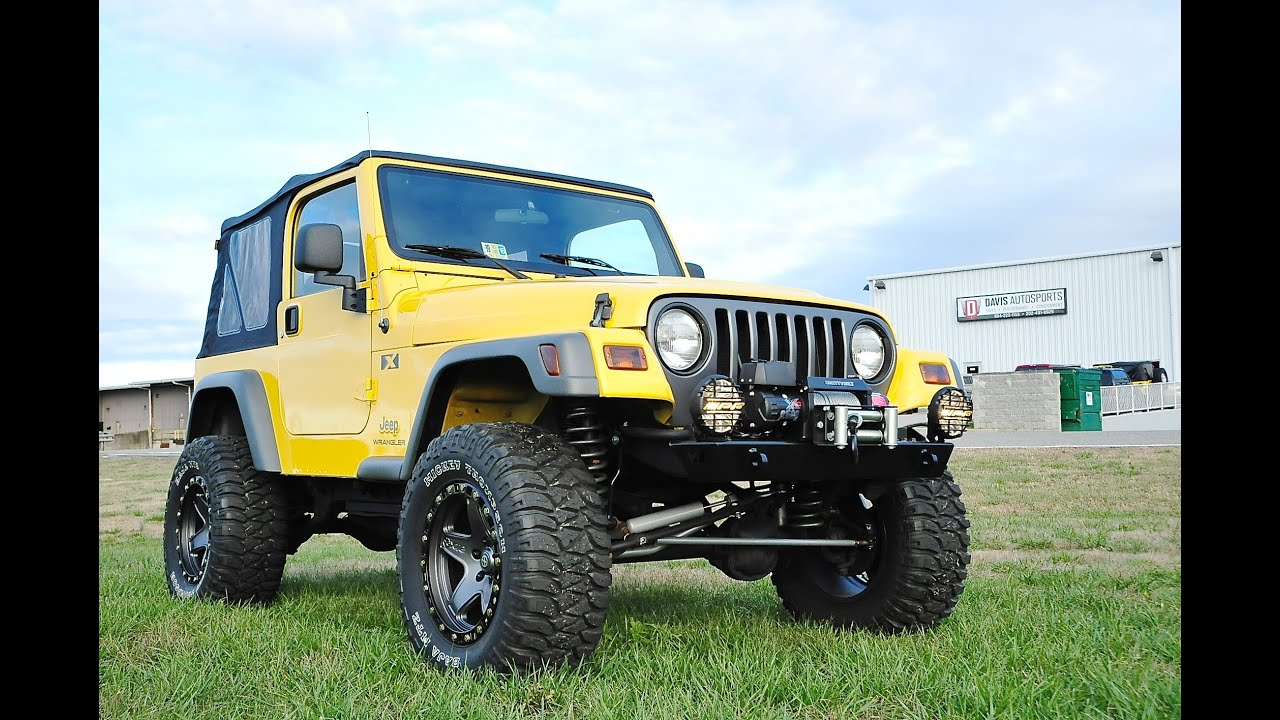 Lifted Jeep Wrangler For Sale >> Davis AutoSports / 2003 Jeep Wrangler X TJ / 66k Miles / Fully Built, Lifted & Modified / For ...