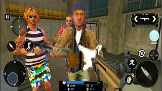 Grand Gangster War Shooting - FPS Shooting Games - Android GamePlay #9