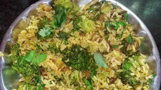 Healthy Broccoli variety riceKids favourite launch box Recipeபரககல கலவ சதம இபபட சயஙக