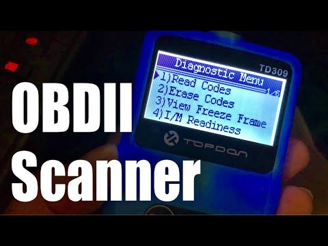 Topdon TD309 Universal OBD2 Scanner Car Code Reader Auto Diagnostic Tool  Review