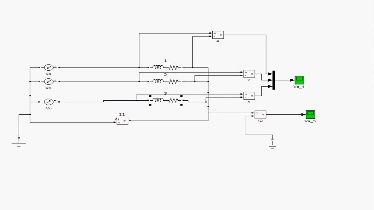 Обрыв нуля в цепи переменного тока.