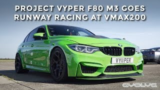 VMAX200 in Project Vyper F80 M3 with Prototype Evolve Turbo's