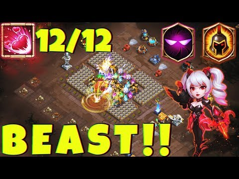 12 Dove Keeper | 8 Unholy Pact & 7 Wargod | Must Watch | CASTLE CLASH