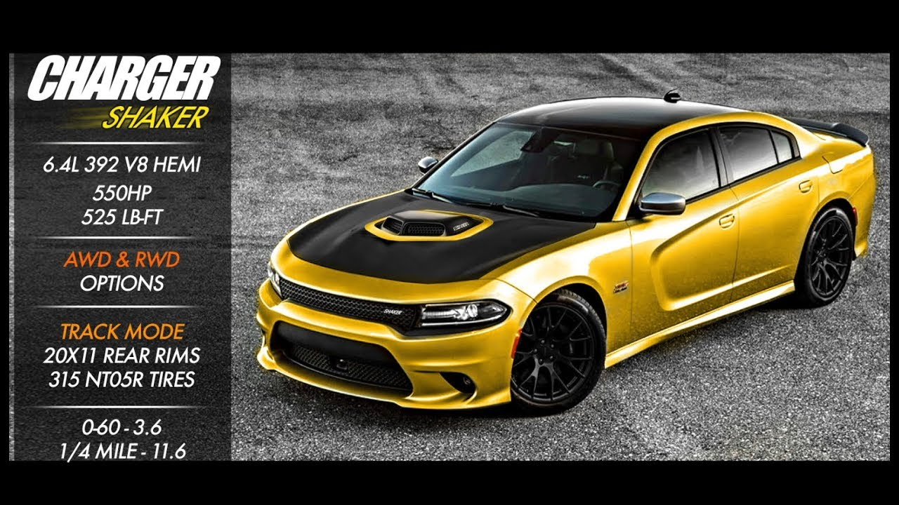 Dodge Charger Shaker 5 7l 392 Youtube