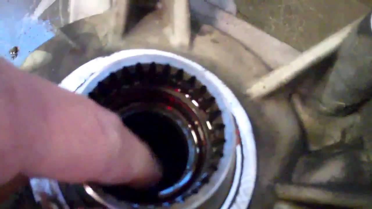 CD4E AWD Escape Right Inner Axle Seal Job. In Car or Bench? - YouTube