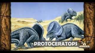 Velociraptor VS Protoceratops | VS Jurasico