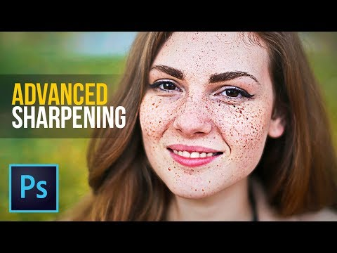 How to Create the Sharpest Portraits in Photoshop!