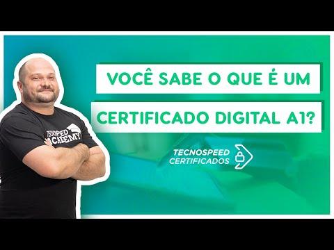 O que é um Certificado Digital A1?