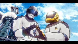 """Give Life Back to Music"" - Daft Punk Animated Music Video"