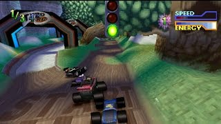 Tyco RC Assault with a Battery Gameplay Tyco Challenge (PlayStation)