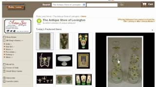 Antique Stores Online - Take A Look At The Best
