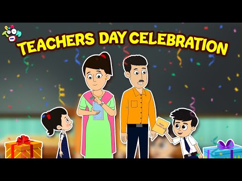 Teacher's Day Celebration | Teacher's Day Special | Animated Stories | English Cartoon | Moral Story