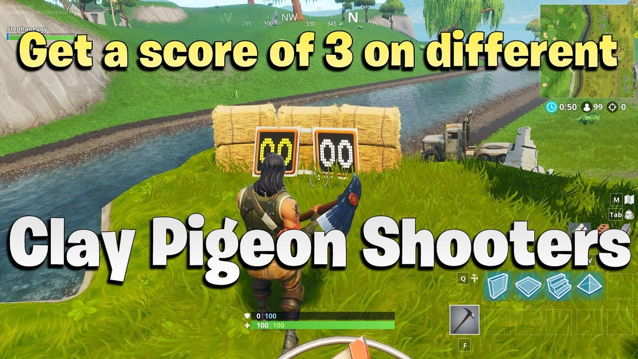 get a score of 3 on different clay pigeon shooters