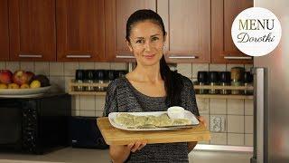 Pierogi z kapustą i grzybami. Jak zrobić ciasto na pierogi? Jak przygotować farsz? MENU Dorotki.