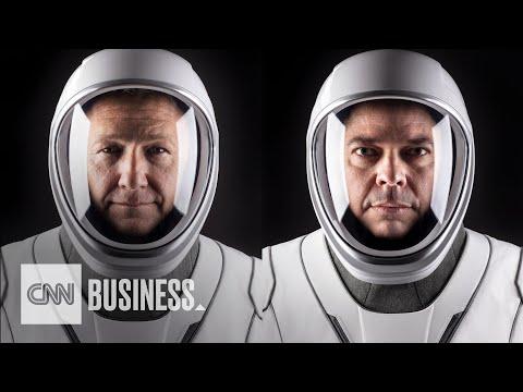 Möt astronauterna som ska åka till ISS Bob Behnken och Doug Hurley ska göra ett nytt försök imorgon