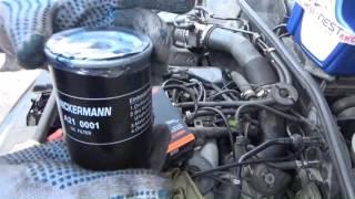 Замена масла без ямы и эстакады Audi A4 B5 и отзыв о масле