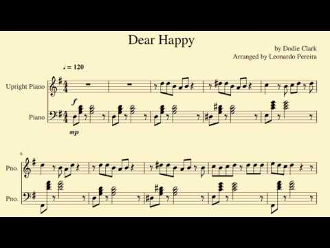Dear Happy (Dodie Clark ft. Thomas Sanders) - Piano Arrangement