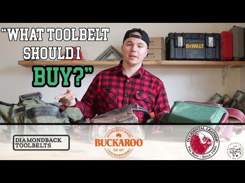 What Tool Belt Should You Buy?! | Pro's And Con's: Occidental, Buckaroo & Diamondback