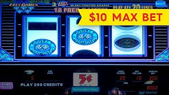 Triple Double Diamond Free Games Slot - $10 Max Bet - BIG WIN BONUS!