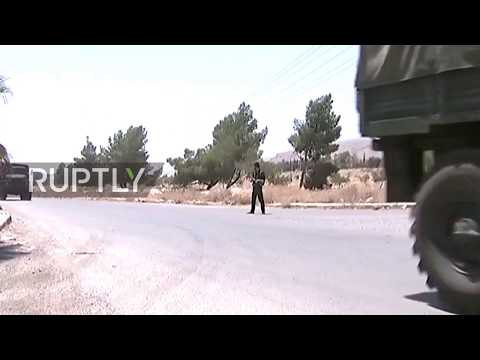 Syria: Russian military deliver food and aid to de-escalation zone in East Ghouta