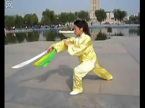 36 thức Thái Cực Đao三十六式 式太极刀_