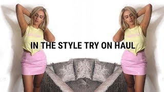 IN THE STYLE TRY ON HAUL INC CHARLOTTE CROSBY SPRING FLING   ASHLEIGH COLLINS