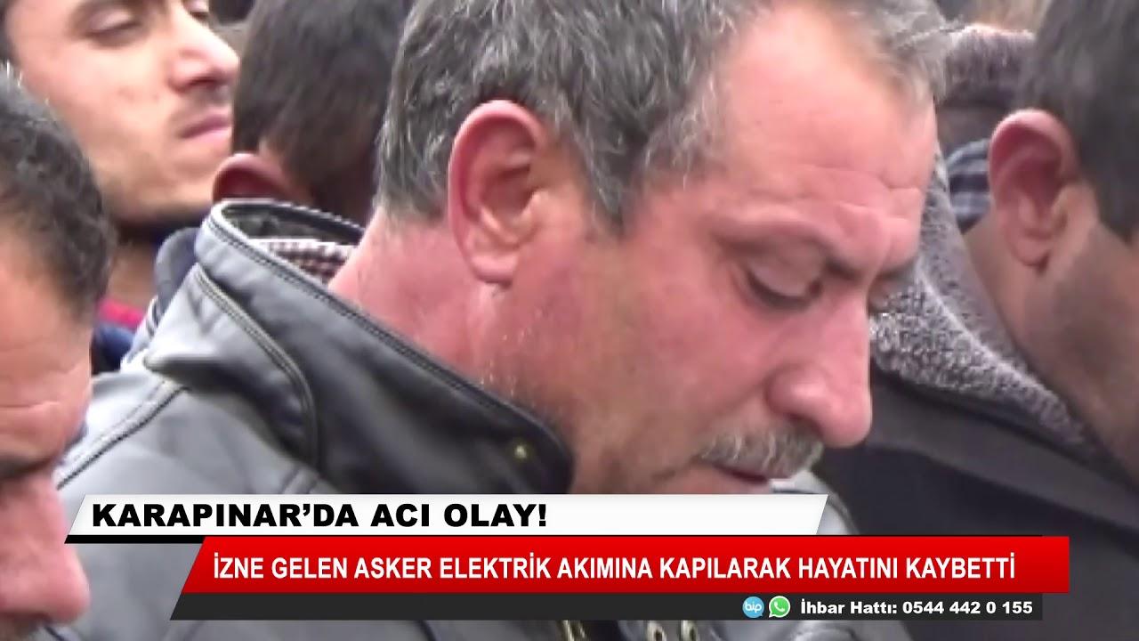 İzne gelen asker Konya'da elektrik akımına kapılarak öldü