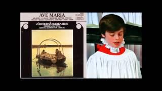 Daniel Perret boy soprano, et al,  sings Reger Mariae Wiegenlied